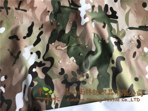 Polyester 190t Taffeta Fabric Multicam Printed Waterproof pictures & photos