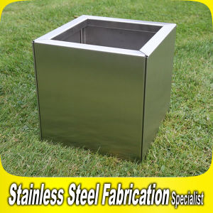Square Planter Pot Stainless Steel Garden Flower Pot pictures & photos