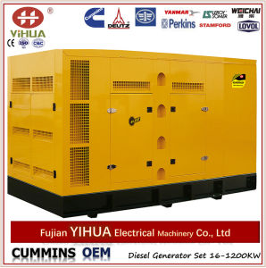 Parrallel Operation Powered by Cummins Big Power Generator From 500kw to 1200kw pictures & photos