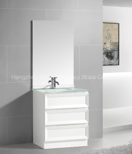 Shaker Doors PVC Bathroom Furniture with Floor Standing pictures & photos