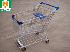 Shopping Trolley Asia Style Supermarket Cart pictures & photos