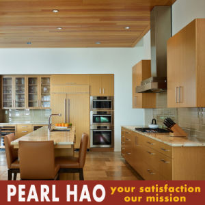Customized Melamine MDF Wood Kitchen Furniture pictures & photos