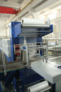 Automatic PE Film Water Bottle Packing Production Line with Ce pictures & photos