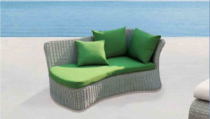 Outdoor Furniture Rattan Lying Chairs Pool Lounge Bed pictures & photos