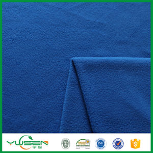 Super Soft Fir Retardant Micro Polar Fleece Fabric for Baby Blanket pictures & photos