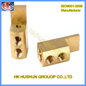 Provide CNC Turning Parts Machine Part Brass (HS-TP-0014) pictures & photos
