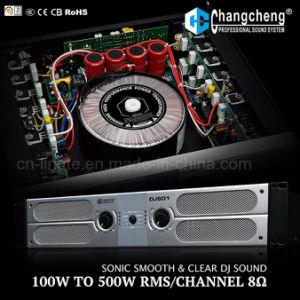 DJ801 Series Class Ab Professonal Power Amplifier pictures & photos