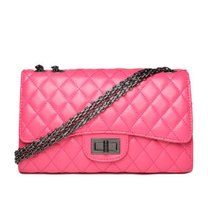 Qulited Faux Leather Fashionable Ladies Joyce Cross Body Bag pictures & photos