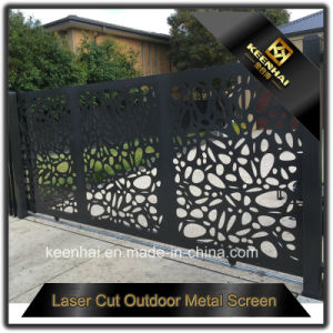 Aluminum Laser Cut Villa Entrance Gate Designs pictures & photos