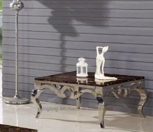 High Quality Fashionable Design Glass Top Coffee Table pictures & photos