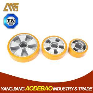 Polyurethane on Cast Aluminium Core Caster Wheel