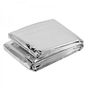Foil Thermal Emergency Blanket Emergency Rescue Blanket pictures & photos