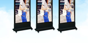 Movable Advertising Lightbox Displays Free Stand LED Light Box pictures & photos