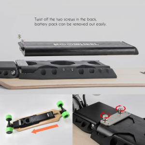 USA Germany Local After Sale Service Skateboard with Samsung Detachable Battery pictures & photos