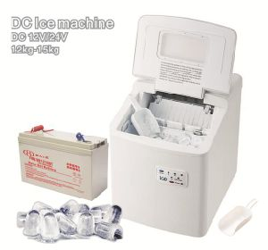 12/24V DC Block Ice Making Machine with Solar Power pictures & photos