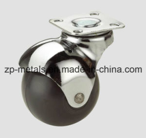 Rubber/PVC Swivel Ball Caster Wheel pictures & photos