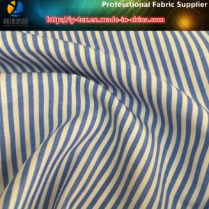 Popular T/C Shirt Fabric, Polyester/Cottn Stripe Shirt Fabric pictures & photos