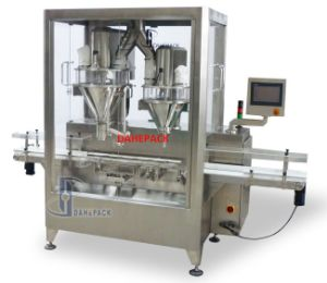 Automatic High Speed Filling Machine for Greens Powder pictures & photos