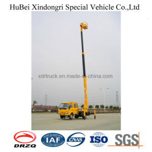 18m Isuzu Euro4 Telescopic Type Aerial Platform Truck pictures & photos