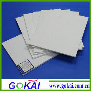 4X8 PVC Board, White 3mm PVC Celuka Foam Board with 0.5 Density pictures & photos