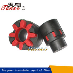 Double Flange Flexible Jaw Type Coupling pictures & photos