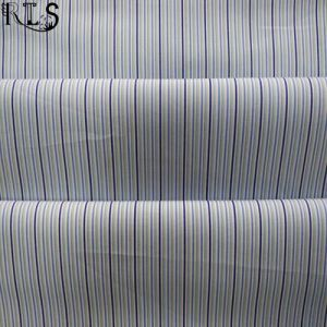 Cotton Poplin Woven Yarn Dyed Fabric for Shirts/Dress Rls50-16po pictures & photos