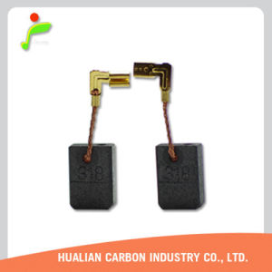 Hualian Carbon Industry Co Ltd Graphite/Hualian CB-315 CB-318 CB-336 Carbon Brushes for Angle Grinder/D374L Carbon Brush pictures & photos