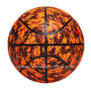 Custom Printed Street Synthetic Leather Basketball pictures & photos