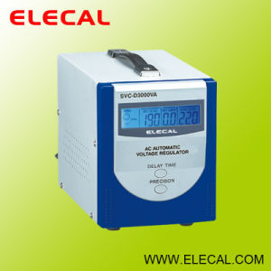 SVC-D (LCD) Series Fully Automatic a. C. Voltage Regulator pictures & photos
