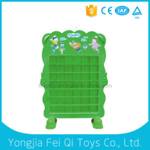 Kid Toy Plastic Cup Shelf Plastic Toy Kids School Furniture pictures & photos