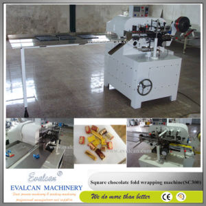 Automatic Chocolate Fold Wrapping Machine pictures & photos
