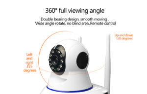 720p HD P2p Home Security Surveillance CCTV Wirelss WiFi IP Camera with IR Night Vision pictures & photos