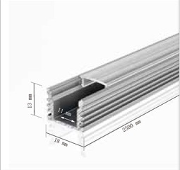 1813 LED Aluminum Channel Profile for Linear Light pictures & photos