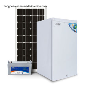 off Grid 12/24V DC Solar Refrigerator Fridge 93L pictures & photos