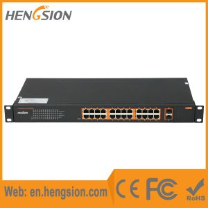 24 Gigabit Tx with 2 Gigabit SFP Ethernet Network Switch