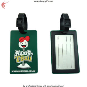 2014 Soft PVC Custom Luggage Tag for Promotion Gifts (YH-LT009) pictures & photos
