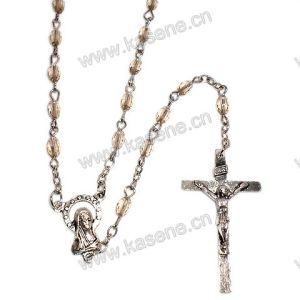 Different Shape Crystal Beads Catholic Rosaries Necklace, Rosary Beads pictures & photos
