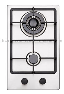 Cheapest Price Two Burners Gas Hob Gas Cooker Jzs32001 pictures & photos