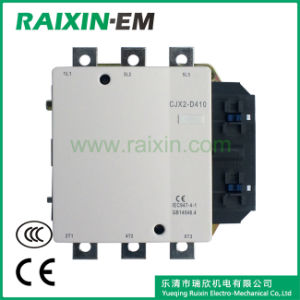 Raixin New Type Cjx2-D410 AC Contactor 3p AC-3 380V 220kw pictures & photos