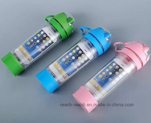480ml Plastic Water iPhone I Bottle Bottle (R-1195) pictures & photos