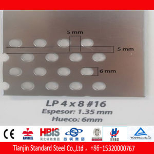 Stainless Steel Plate Perforated 304 201 316 3mm 4mm Aperture pictures & photos