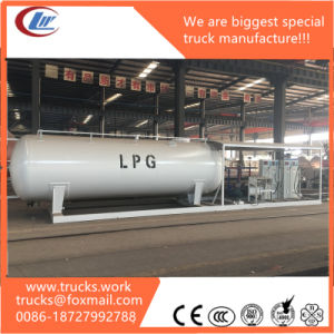 15000liters 4000us Gallons Pressure Vessel Station Used LPG Skid Station pictures & photos