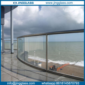 Curved Tempered Glass Panels for Window Wall and Balustrade pictures & photos