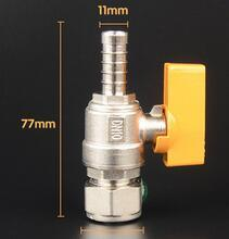 Straight Hose Brass Gas Valves pictures & photos
