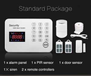 Wireless Security GSM Alarm with Touch Keypad pictures & photos