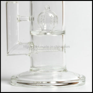 "Sovereignty Glass 14"" 60mm Tube Gridded Perc and Row Inline Perc Thick Smoking Glass Water Pipe Hookah Hand Blown Heady Tobacco Bubbler Wholesale Pyrex pictures & photos"
