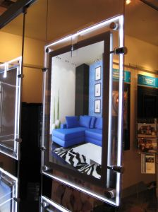 Detachable Edge Lit Magnetic Type LED Window Displays pictures & photos
