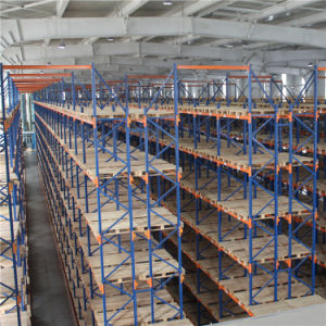 Vna Pallet Racking with Very Narrow Aisle Forklift pictures & photos