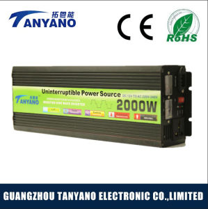 Modified Sine Wave Inverter 12V 220V 2000W UPS Inverter pictures & photos