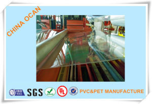 Plastic PVC Rigid Clear Sheet for Printing and Thermoforming pictures & photos
